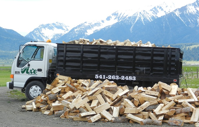 SuperAxe Firewood Delivery